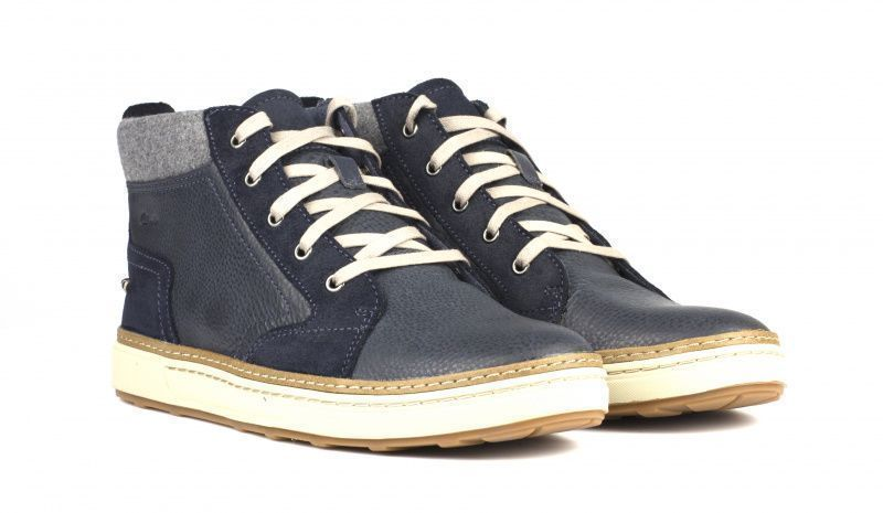 Ботинки мужские Clarks LORSEN MID OM2690 брендовая обувь, 2017