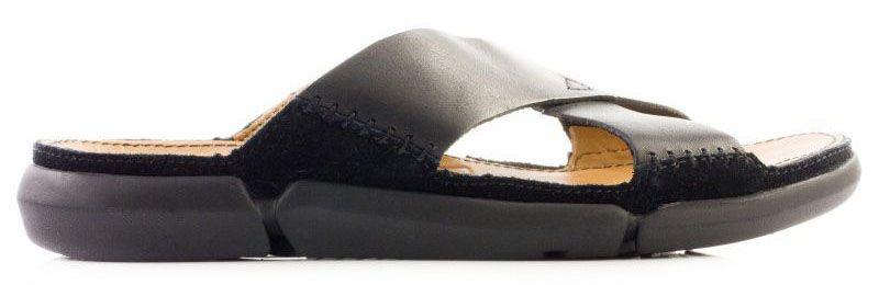 Купить Шлёпанцы мужские Clarks Trisand Cross OM2716, Черный