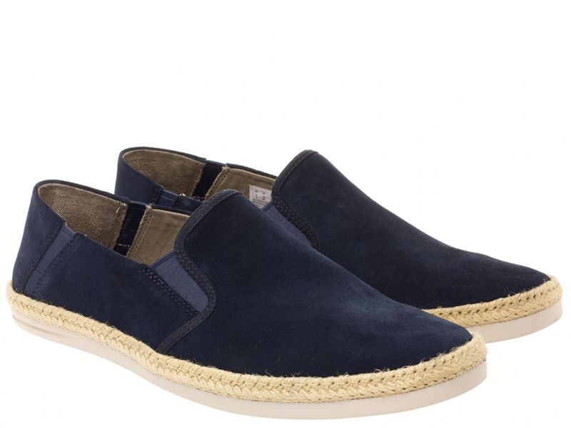 Cлипоны мужские Clarks Bota Step OM2728 брендовая обувь, 2017