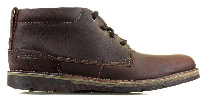 Купить Ботинки мужские Clarks Edgewick Mid OM2767, Коричневый
