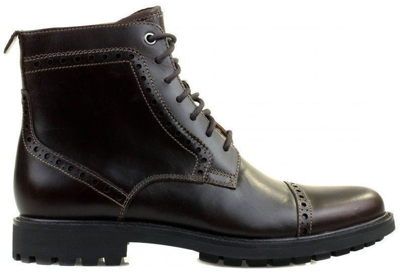 Купить Ботинки мужские Clarks Montacute Cap OM2789, Коричневый