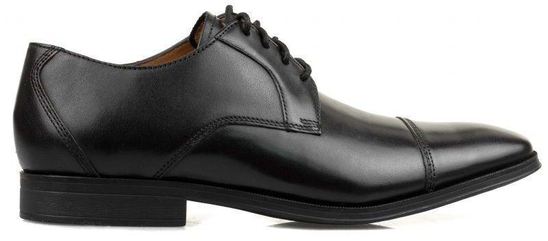 Купить Туфли мужские Clarks Gilman Cap OM2798, Черный