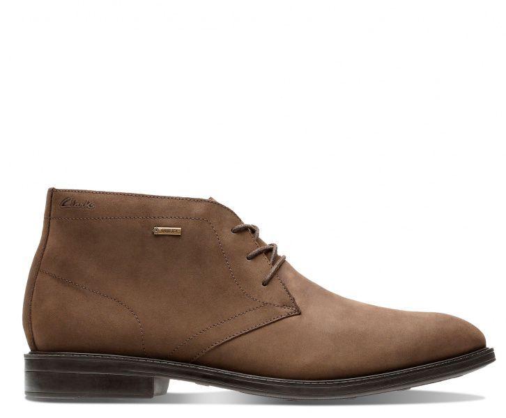 Купить Ботинки мужские Clarks Chilver Hi GTX OM2878, Коричневый