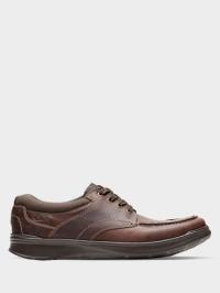 Полуботинки мужские Clarks напівчеревики чол. (6-12) OM2879 размерная сетка обуви, 2017