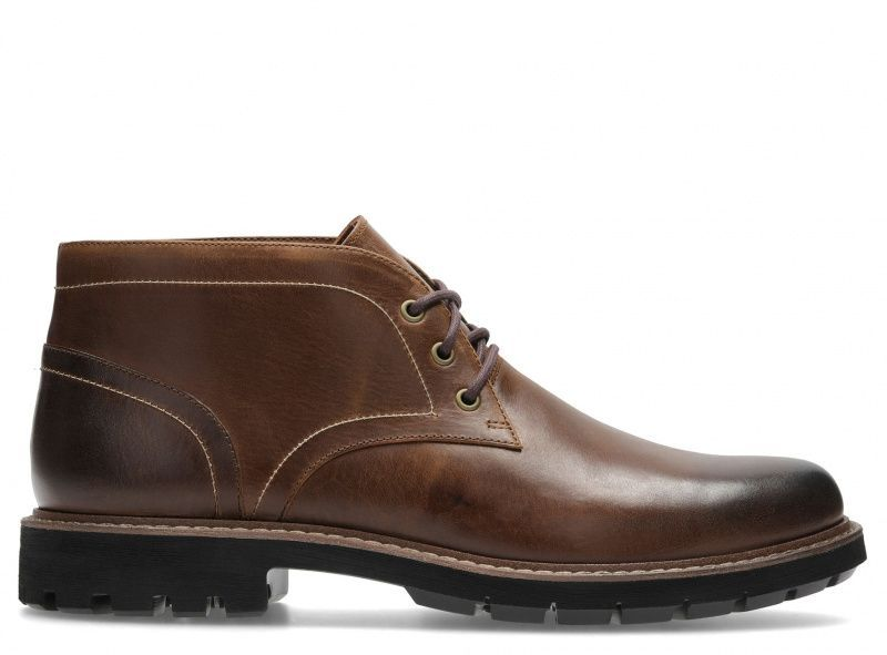 Купить Ботинки мужские Clarks Batcombe Lo OM2884, Коричневый
