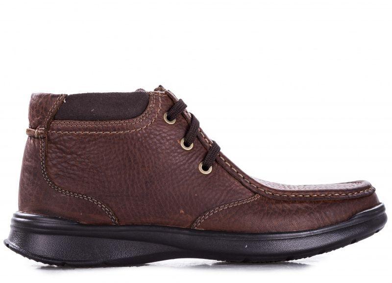 Купить Ботинки мужские Clarks Cotrell Top OM2902, Коричневый