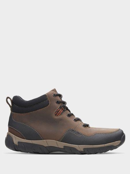 Купить Ботинки мужские Clarks Walbeck Top II OM2913, Коричневый