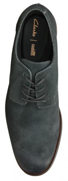 Туфли мужские Clarks Flow Plain OM2923 брендовая обувь, 2017
