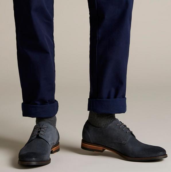 Туфли мужские Clarks Flow Plain OM2923 размеры обуви, 2017