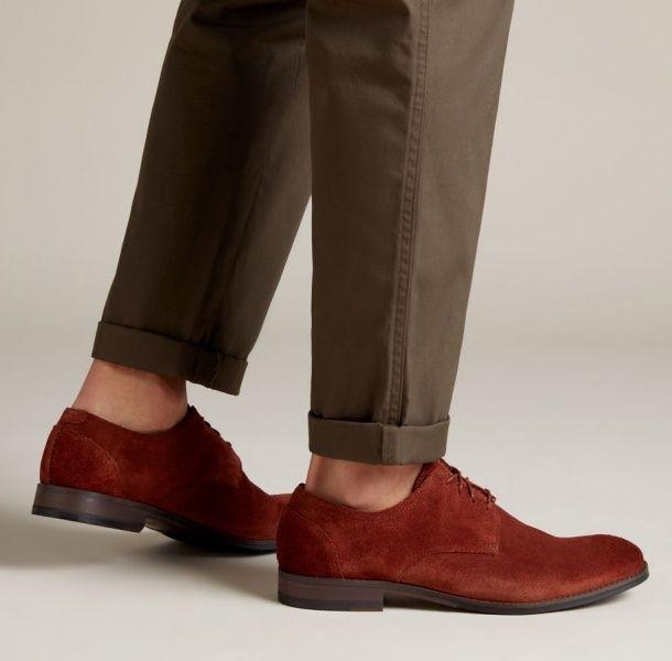 Туфлі  чоловічі Clarks Flow Plain 2614-1957 дивитися, 2017
