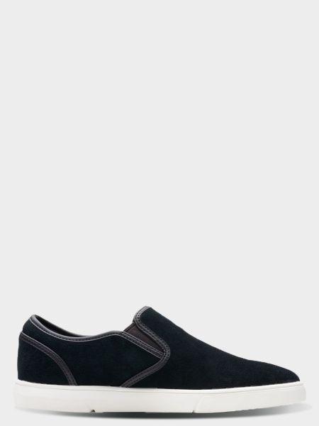 Купить Cлипоны мужские Clarks Landry Step OM2933, Черный