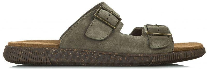 Шлёпанцы мужские Clarks Vine Cedar OM2959 брендовая обувь, 2017