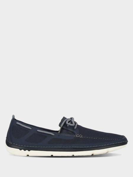 Купить Cлипоны мужские Clarks Step Maro Wave OM2965, Синий