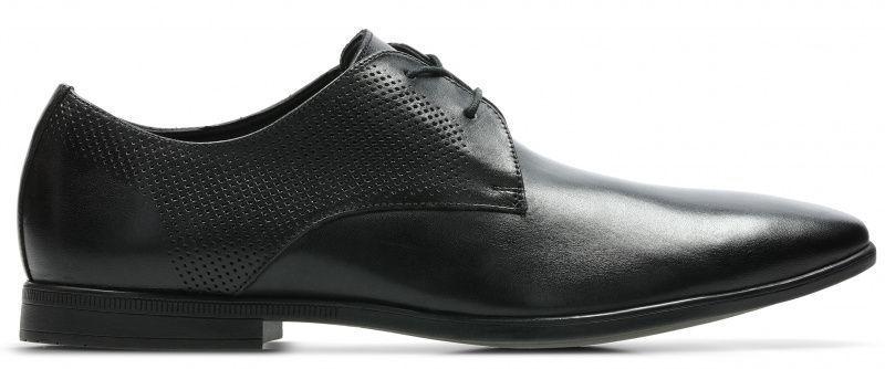 Купить Туфли мужские Clarks Bampton Cap OM2991, Черный
