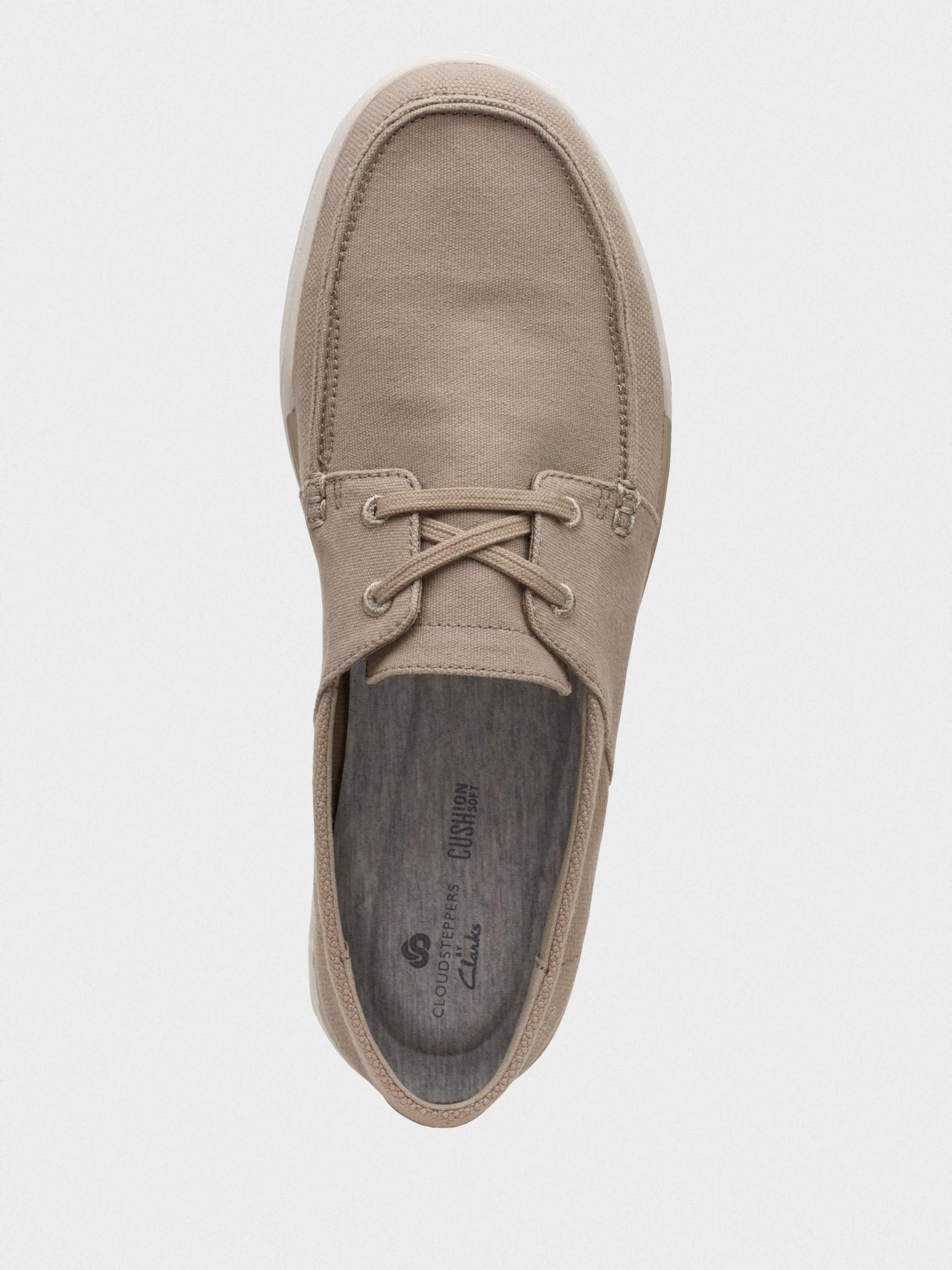 Мокасины для мужчин Clarks Step Isle Base 2614-8969 брендовая обувь, 2017