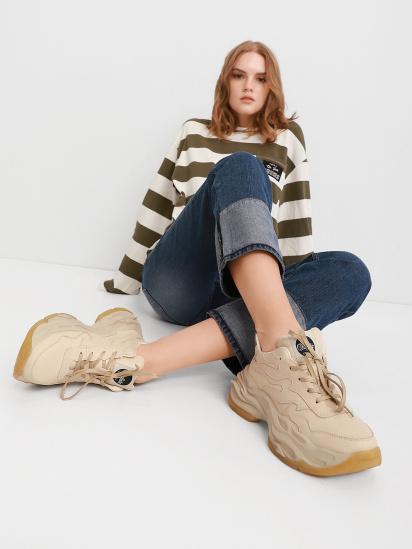 Кросівки для міста Buffalo модель 1530234-cream — фото - INTERTOP