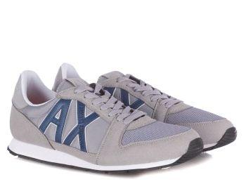 Кроссовки для мужчин Armani Exchange OV45 брендовая обувь, 2017