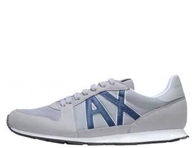 Кроссовки мужские Armani Exchange OV45 брендовая обувь, 2017