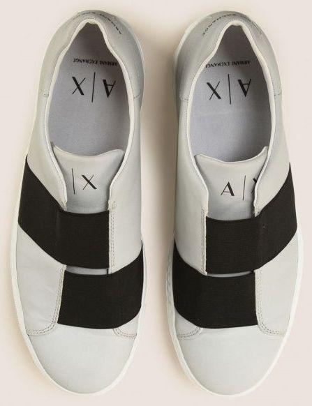 Cлипоны для мужчин Armani Exchange MAN SNEAKER OV69 брендовая обувь, 2017