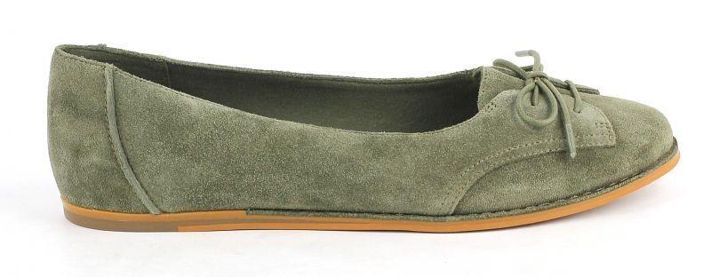 Купить Балетки женские Clarks OW3014, Зеленый