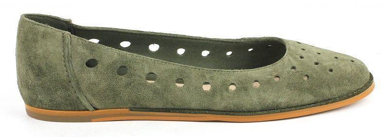 Купить Балетки женские Clarks OW3018, Зеленый