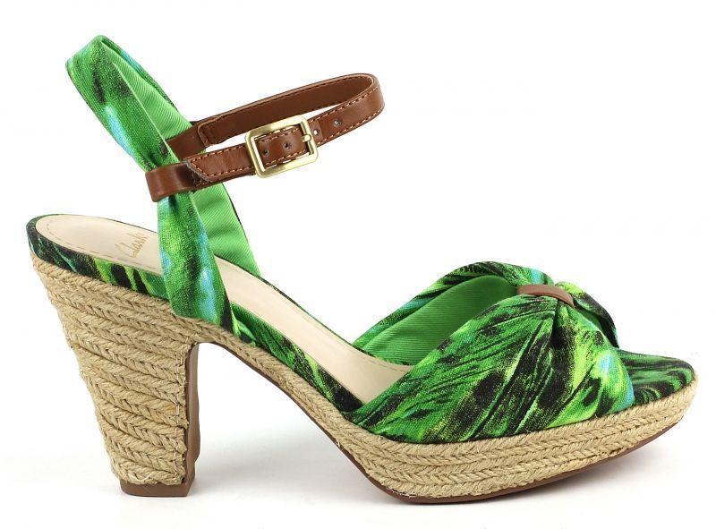 Купить Босоножки женские Clarks OW3144, Зеленый
