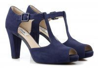 женская обувь Clarks синего цвета, фото, intertop