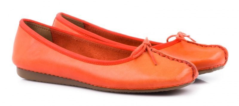 Балетки женские Clarks Freckle Ice OW3830 размерная сетка обуви, 2017