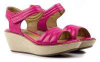 Женские босоножки розовые, фото, intertop