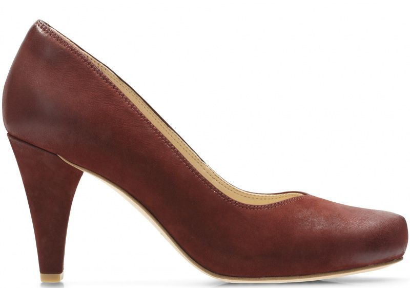 Купить Туфли женские Clarks Dalia Rose OW4165, Бордовый