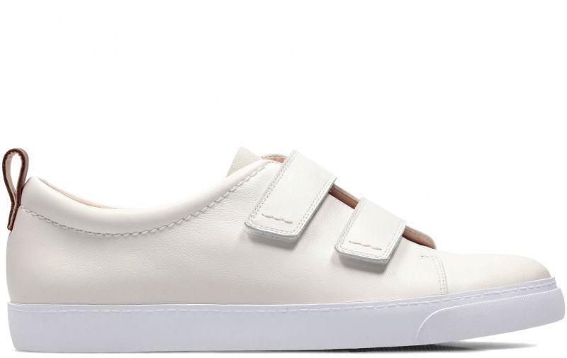 Купить Полуботинки женские Clarks Glove Daisy OW4177, Белый