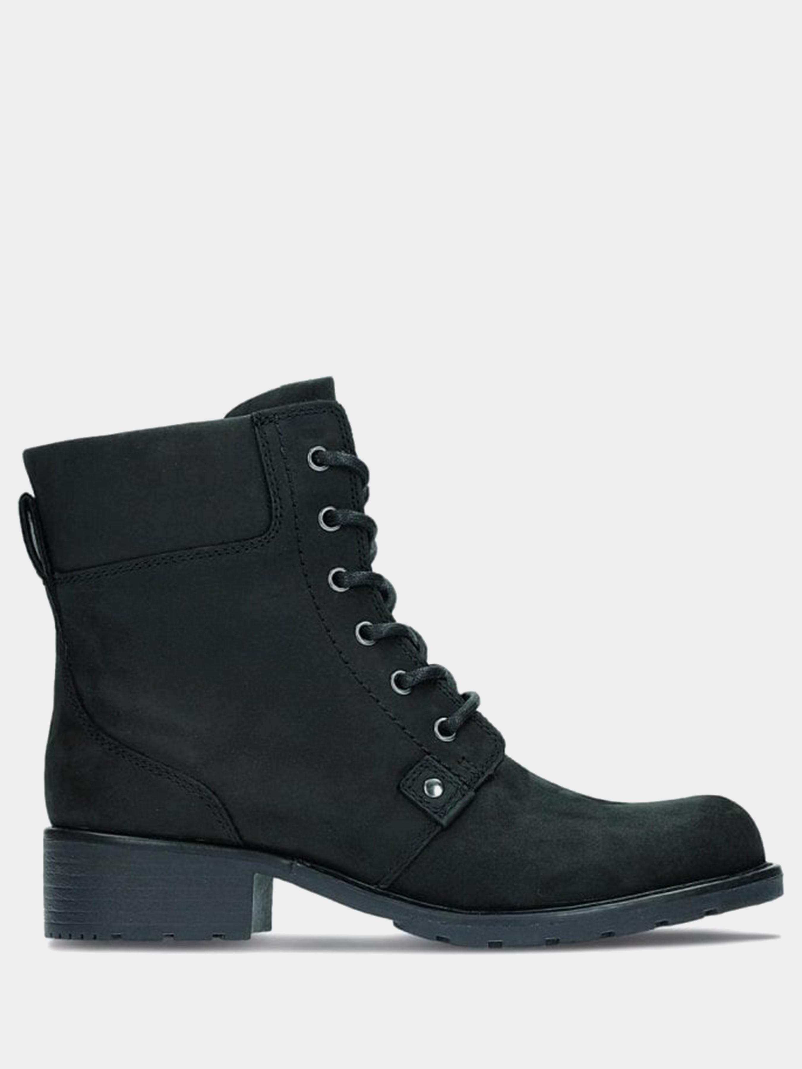 Купить Ботинки женские Clarks Orinoco Spice OW4238, Черный