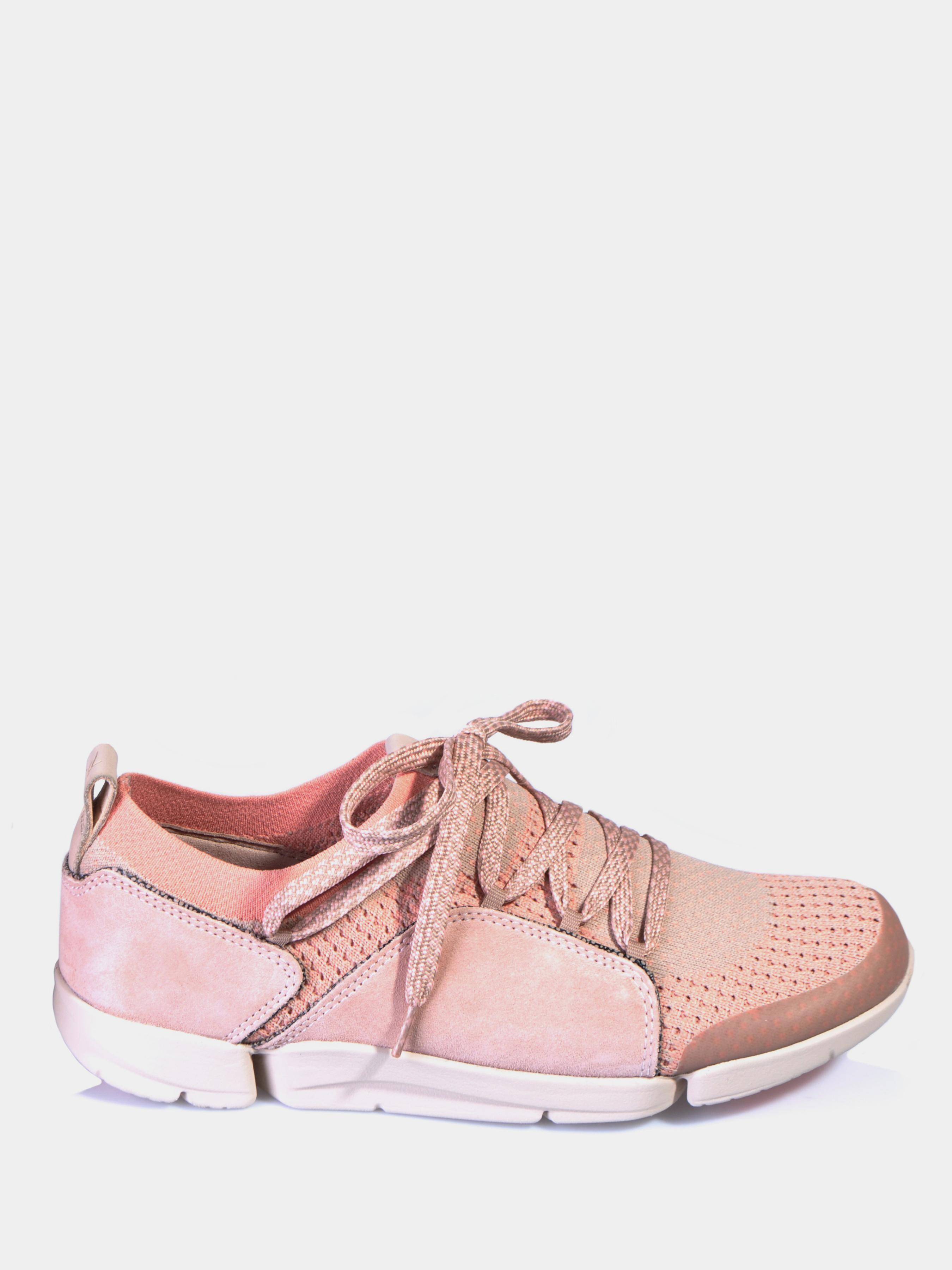 Купить Полуботинки женские Clarks Tri Amelia OW4314, Розовый