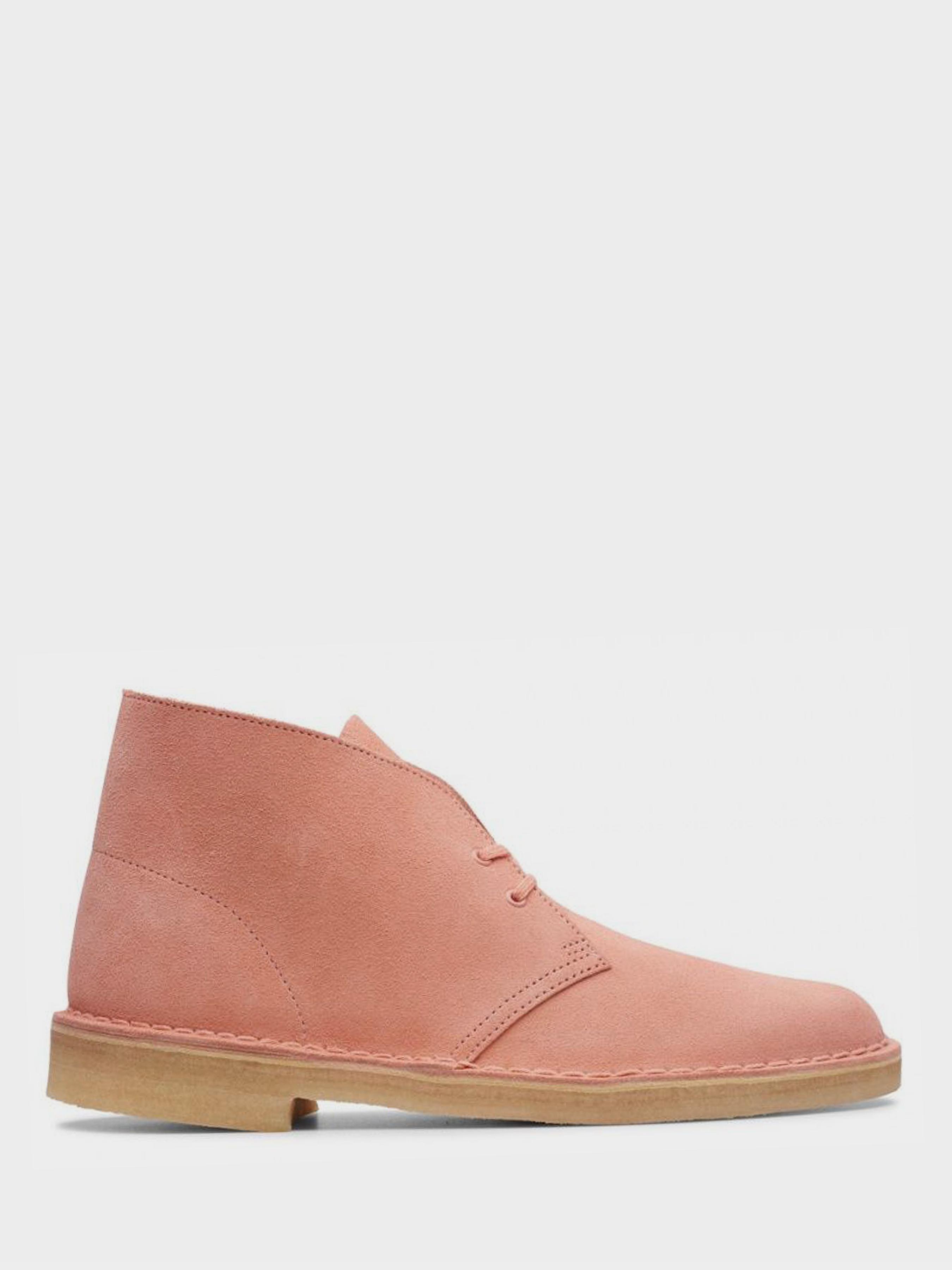 Ботинки женские Clarks Desert Boot. OW4391, Коралловый  - купить со скидкой