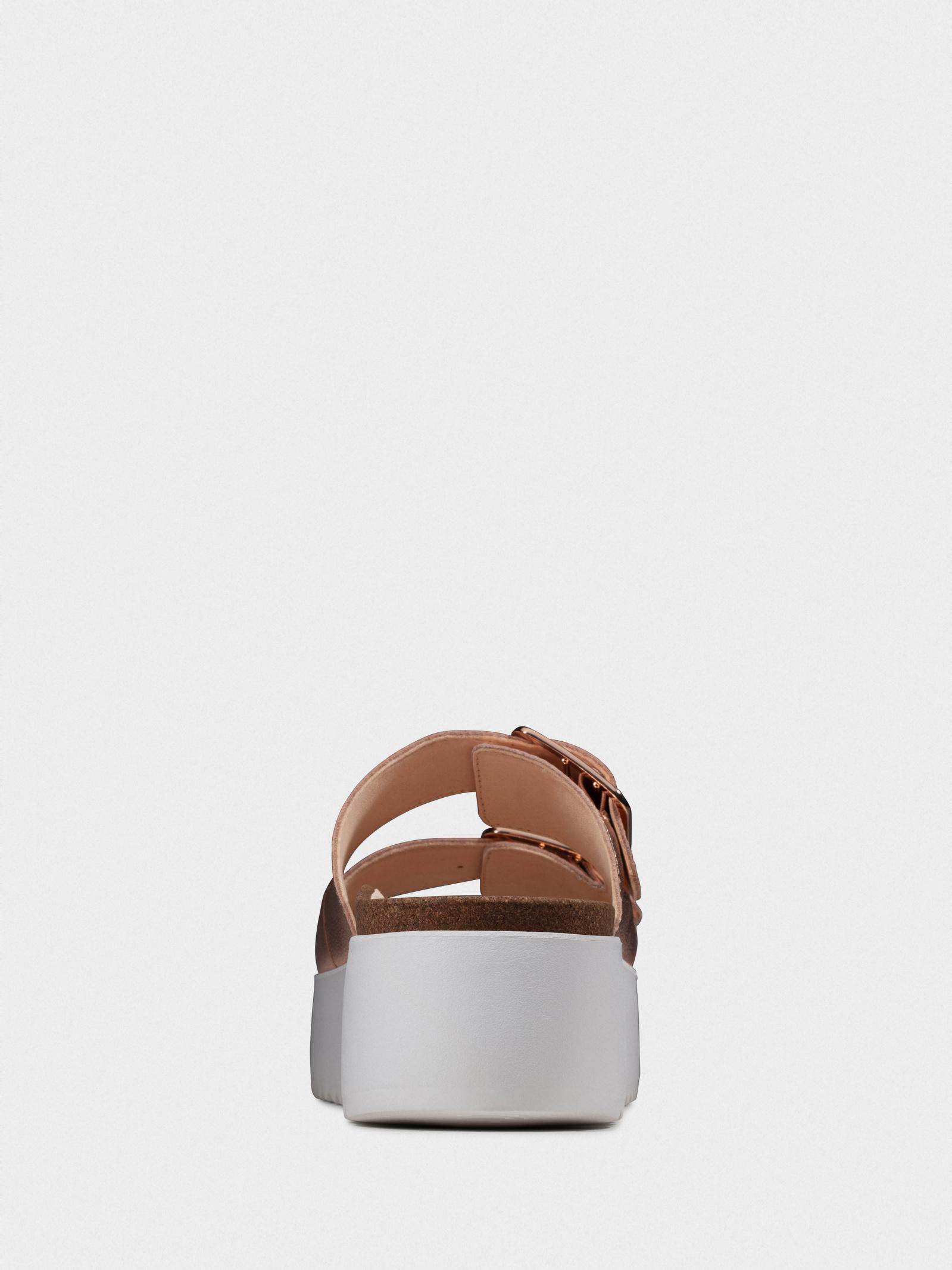 Шльопанці  для жінок Clarks 26147520 модне взуття, 2017