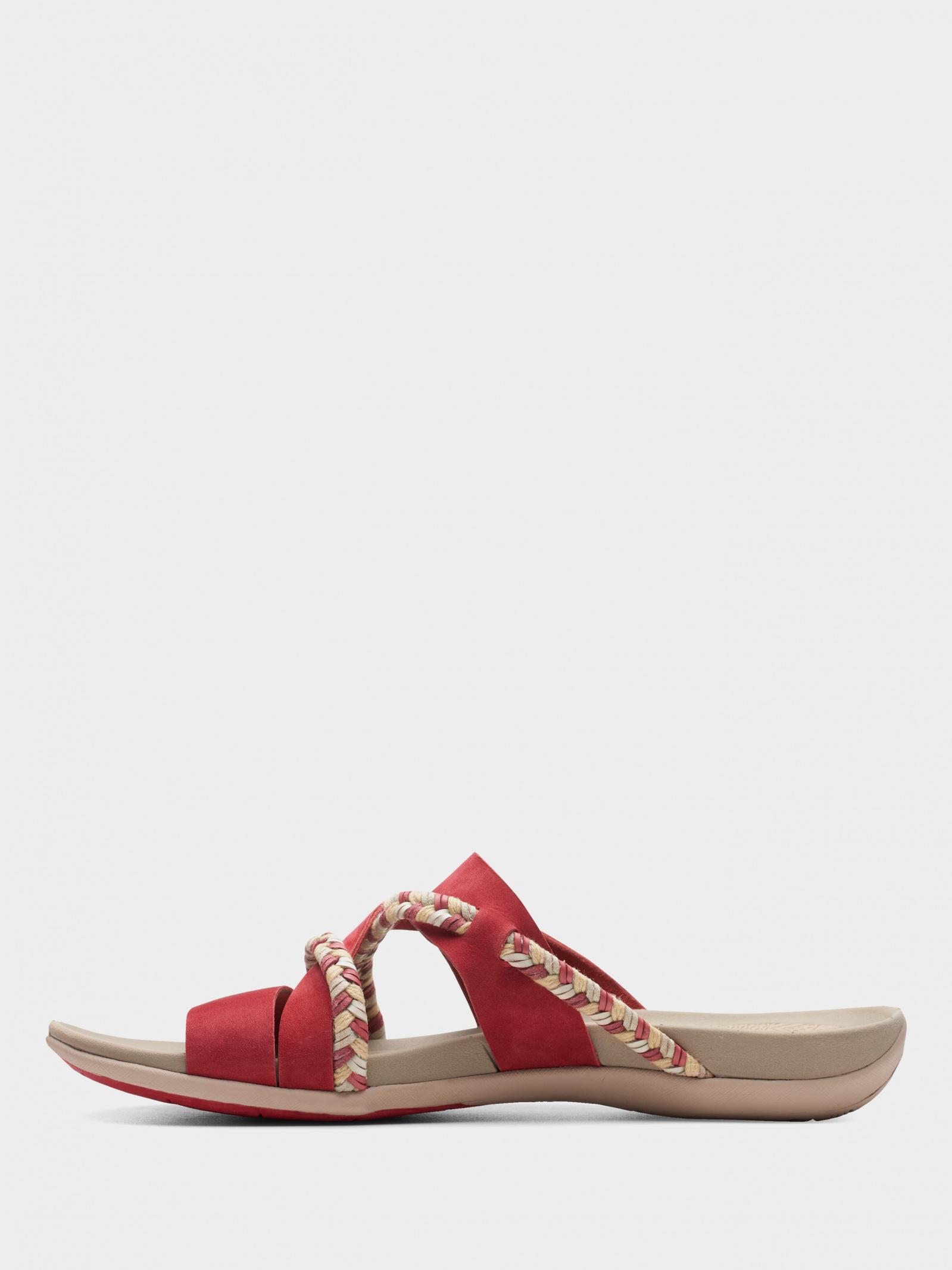 Шльопанці  для жінок Clarks 2615-0280 модне взуття, 2017