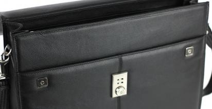 Портфель Picard модель 8265-001 black — фото 4 - INTERTOP