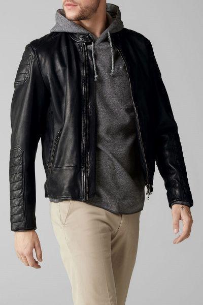 Куртка кожаная мужские MARC O'POLO PC563 размерная сетка одежды, 2017
