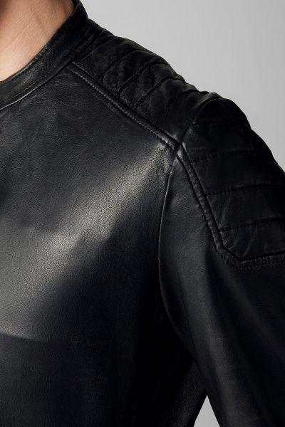 Куртка кожаная мужские MARC O'POLO PC563 примерка, 2017