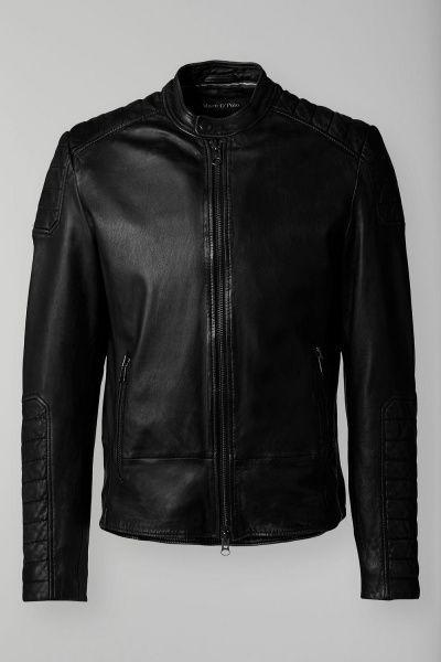 Куртка кожаная мужские MARC O'POLO PC563 цена одежды, 2017