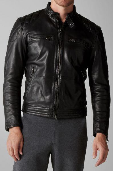 Куртка кожаная мужские MARC O'POLO модель PC595 качество, 2017