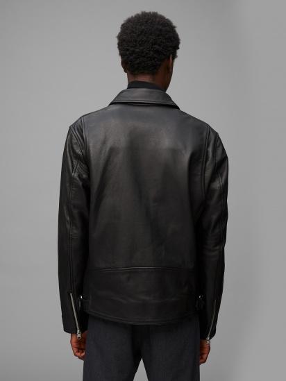 Шкіряна куртка Marc O'Polo модель 029700473018-990 — фото 2 - INTERTOP