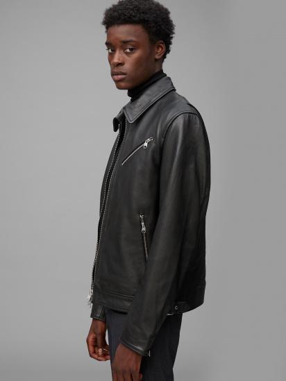 Шкіряна куртка Marc O'Polo модель 029700473018-990 — фото 3 - INTERTOP