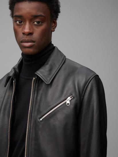 Шкіряна куртка Marc O'Polo модель 029700473018-990 — фото 4 - INTERTOP