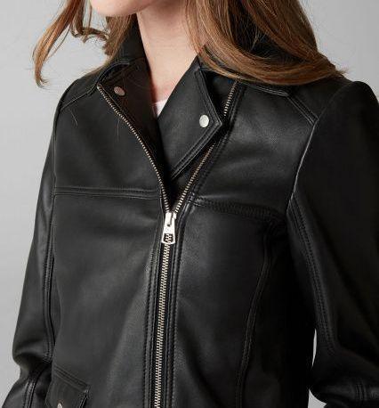 Куртка кожаная женские MARC O'POLO модель PD555 качество, 2017
