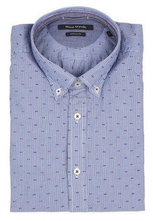 Рубашка с длинным рукавом мужские MARC O'POLO модель PE2802 цена, 2017