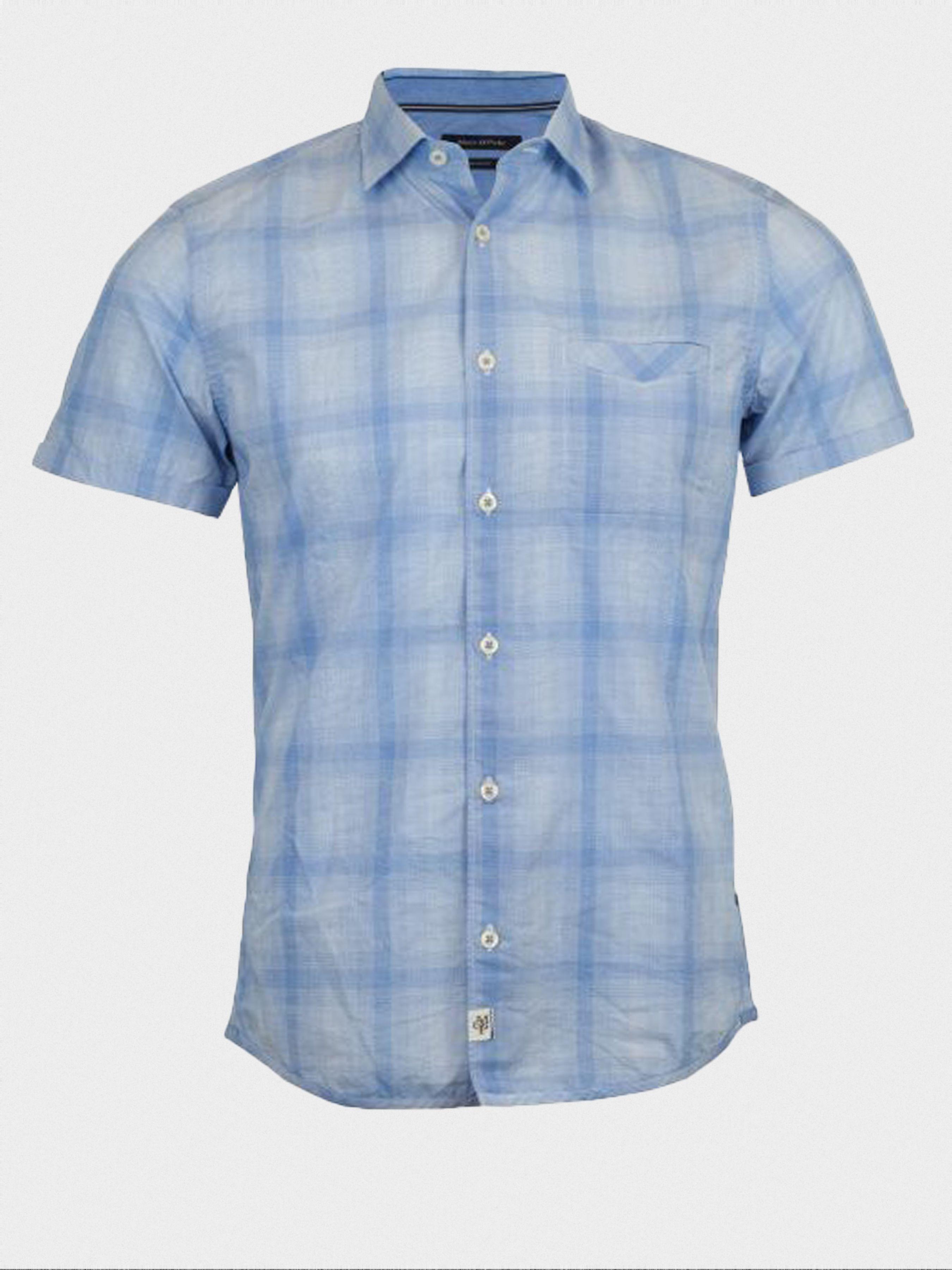 Рубашка с коротким рукавом мужские MARC O'POLO модель PE2857 приобрести, 2017