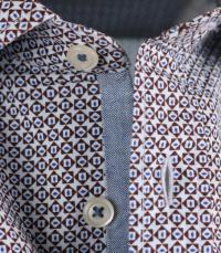 Рубашка с длинным рукавом мужские MARC O'POLO модель 727732642154-U89 качество, 2017