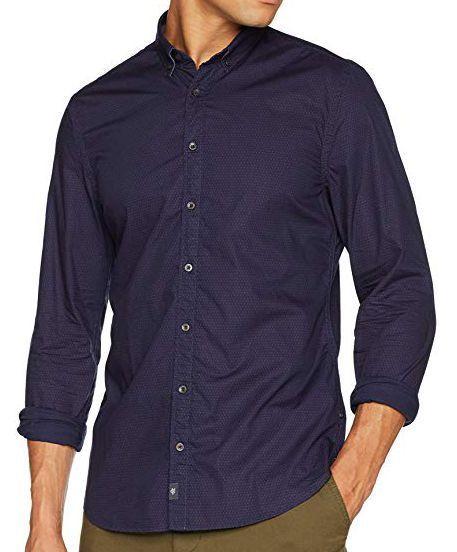 MARC O'POLO Рубашка с длинным рукавом мужские модель PE3007 купить, 2017