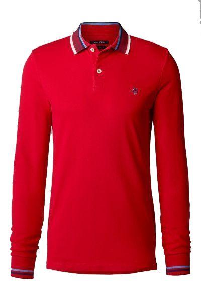 Купить Поло с длинным рукавом мужские модель PE3032, MARC O'POLO, Красный
